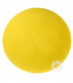 bola textil amarilla