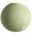 bola textil verde cristalino