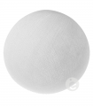 bola textil blanca