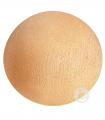 bola textil naranja suave